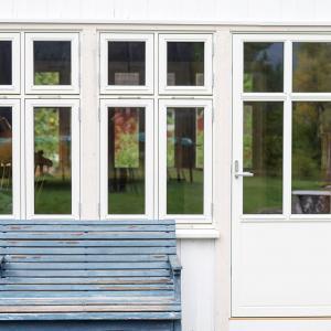 Nye vinduer og verandadør (Fjordglas)