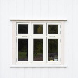 Nytt vindu utvendig (Fjordglas)