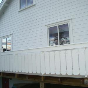Nye vinduer i hele huset, både i 1. og 2. etasje.