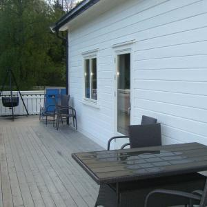 Ny terrassedør.