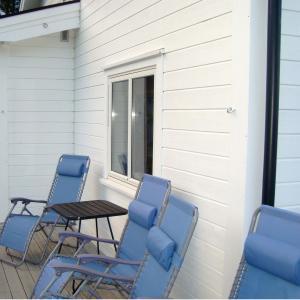 Ny terrasse tatt i bruk.